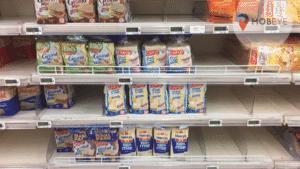 Rupture de stock en magasin